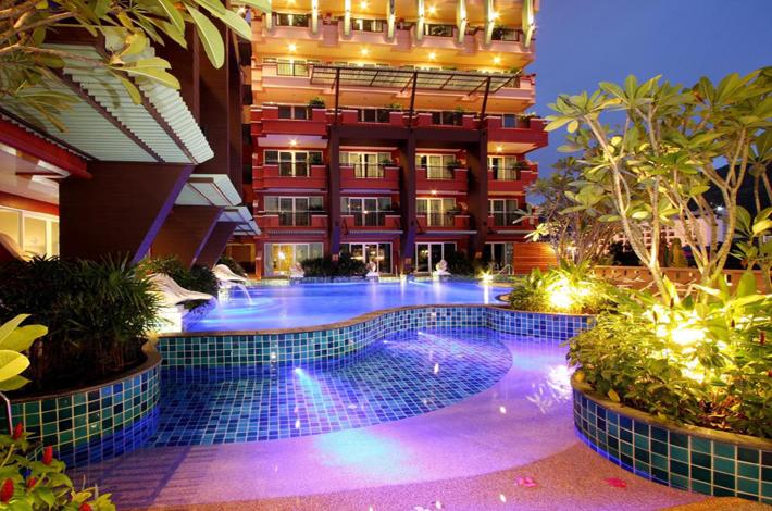 普吉岛blue ocean酒店泳池