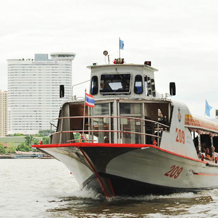 曼谷船运交通攻略