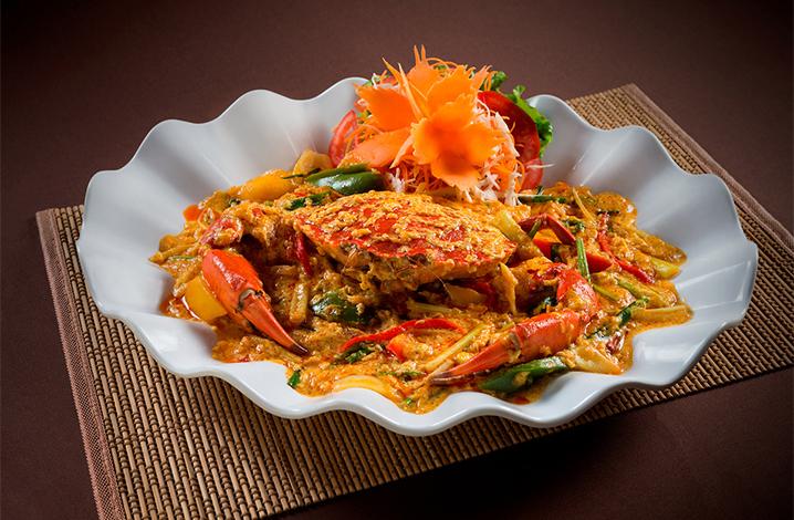 泰国咖喱蟹