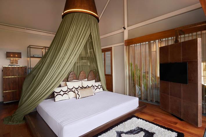 奇玛拉酒店(Keemala)帐篷泳池别墅(Tent Pool Villas)内景