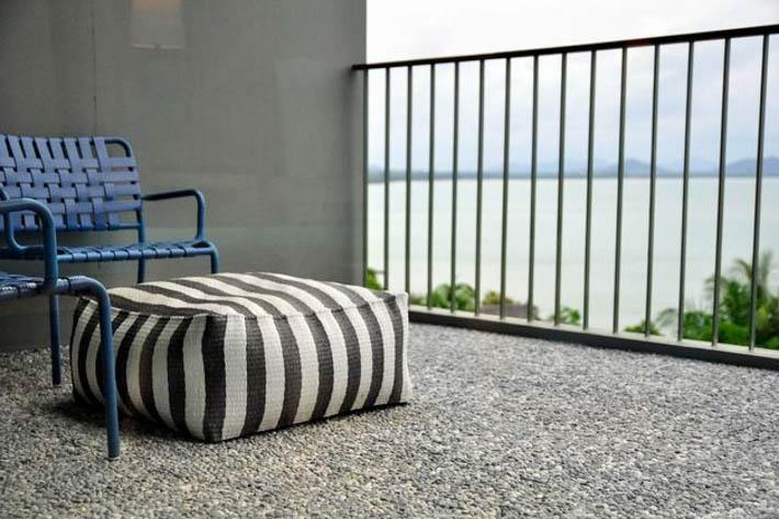 COMO Point Yamu酒店房间阳台