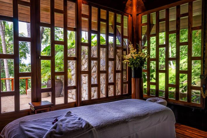 Amanpuri安缦普瑞做按摩的房间