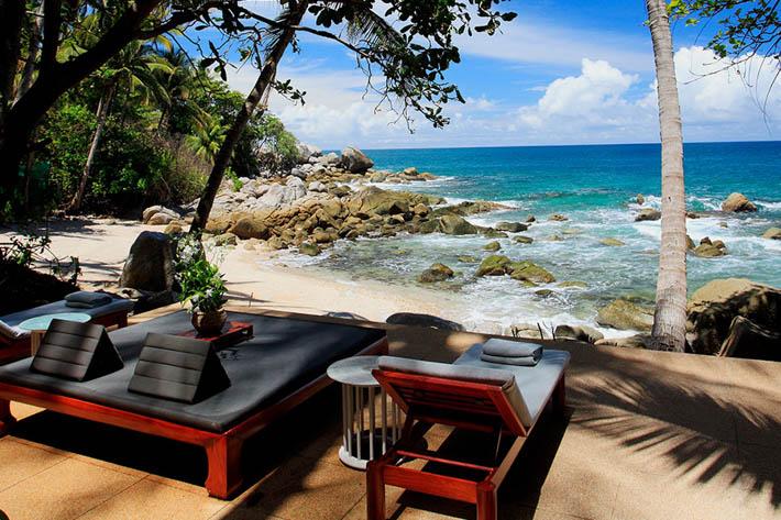 Amanpuri安缦普瑞酒店沙滩