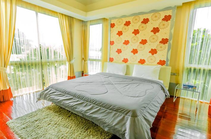 芭提雅斯里天堂酒店的房间