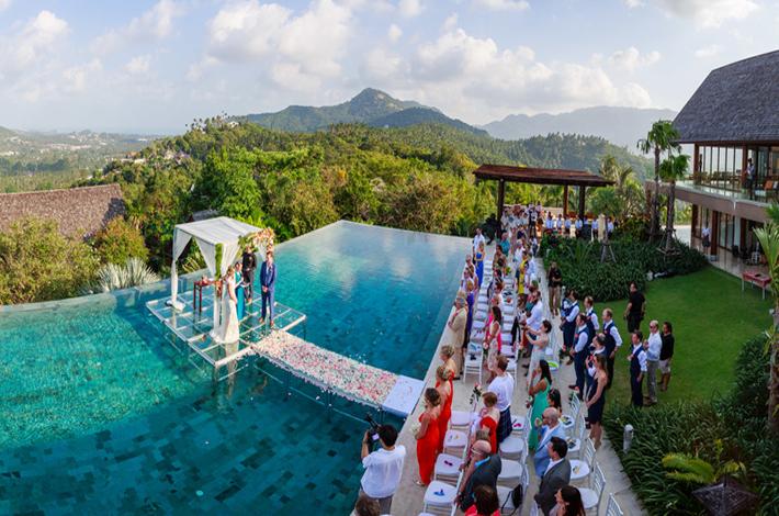 Panacea Retreat酒店的婚礼