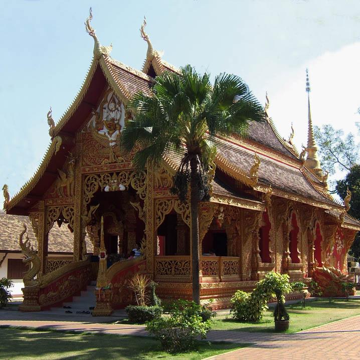 到泰国喃邦旅游,体会最纯粹的幸福
