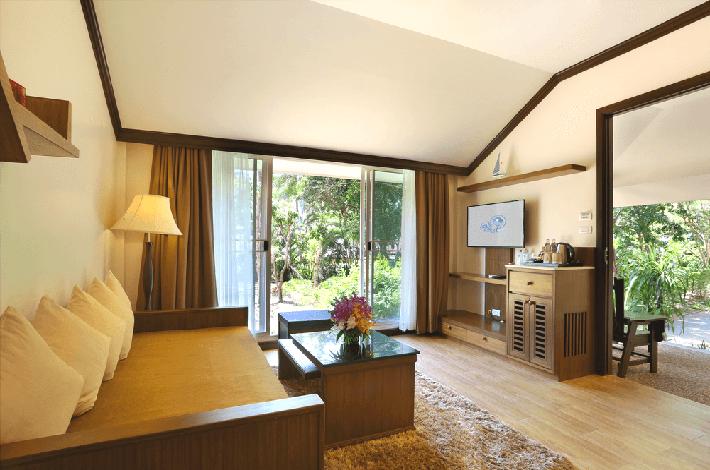 甲米度假酒店的房间
