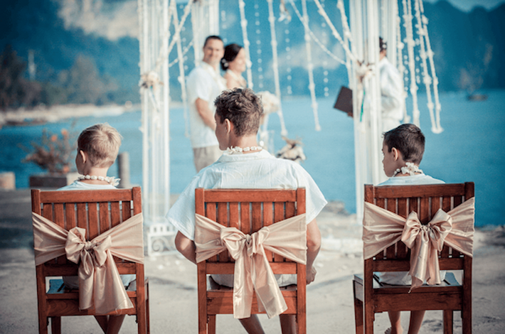 甲米度假酒店的婚礼蜜月