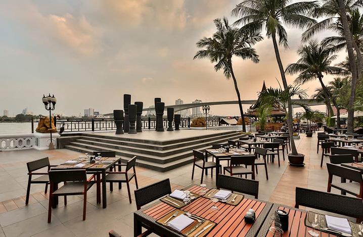 曼谷安纳塔拉河畔水疗度假村餐厅