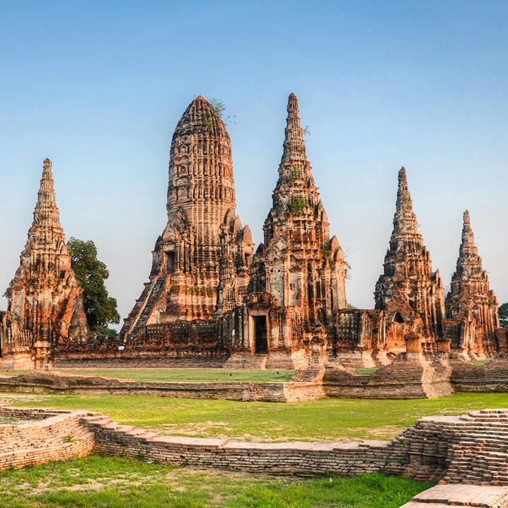 大城(Ayutthaya),泰国最知名的历史古都