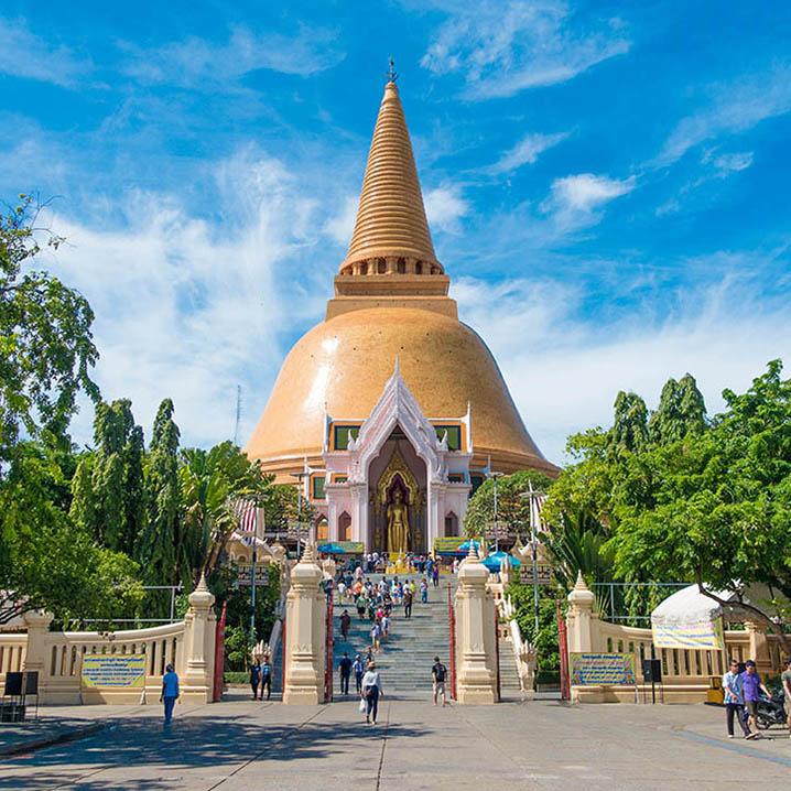 佛统 | 曼谷周边这个最适合自由行的地方,推荐给你