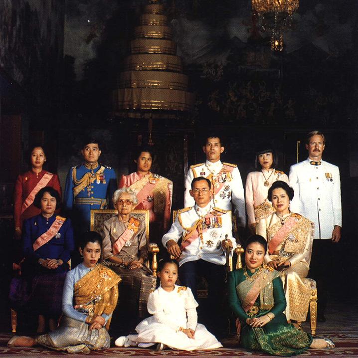拉玛十世时期的泰国皇室成员
