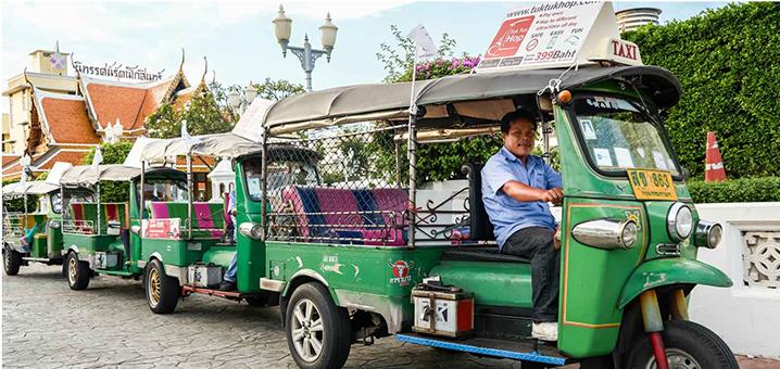 Tuktuk Hop,曼谷嘟嘟车约车神器
