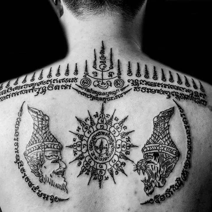 比纹身更痛的是——泰国刺符