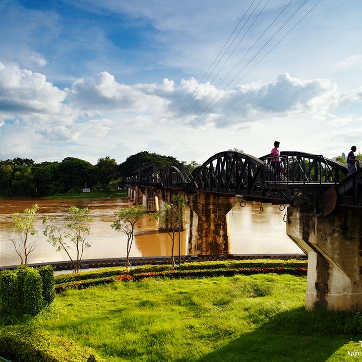 北碧这条桂河大桥,原来这么有料