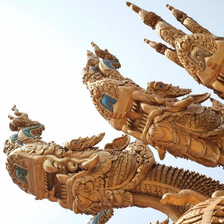 泰国楠府市区大牌寺庙观光指南