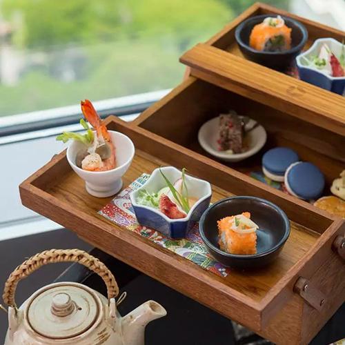 曼谷大仓新颐酒店Up & Above餐厅樱花日式下午茶