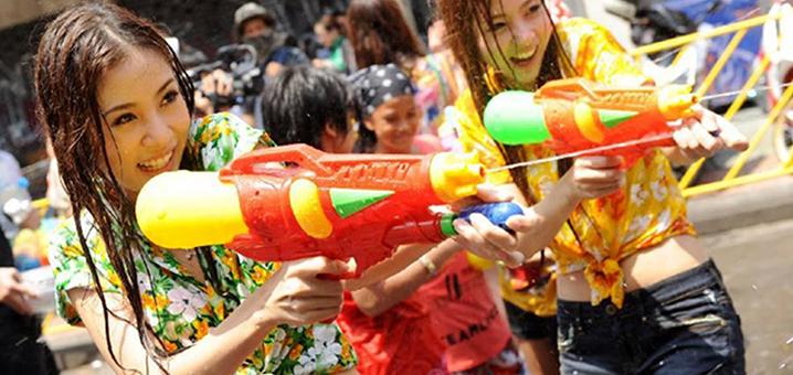 泰國潑水節 | 解鎖泰國年度最High的濕身狂歡派對~