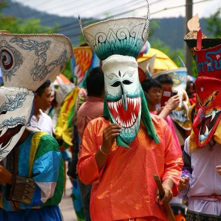2018泰国鬼节,16号等你来狂欢3天把鬼玩坏