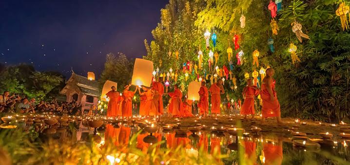 2018清迈水灯节活动安排及抢票攻略,在世界上最浪漫的节日