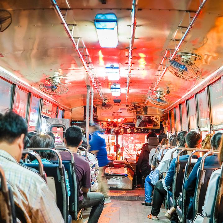 曼谷公交车的二、三事