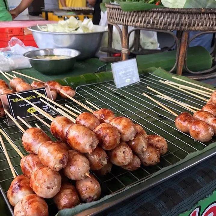 每次逛泰國夜市必吃的燒烤串串兒