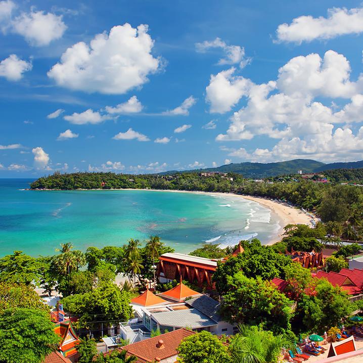 普吉走进卡塔海滩 Kata Beach
