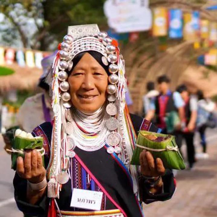 每年的清莱Doi Tung节,全球的环保旅行家们都在这!