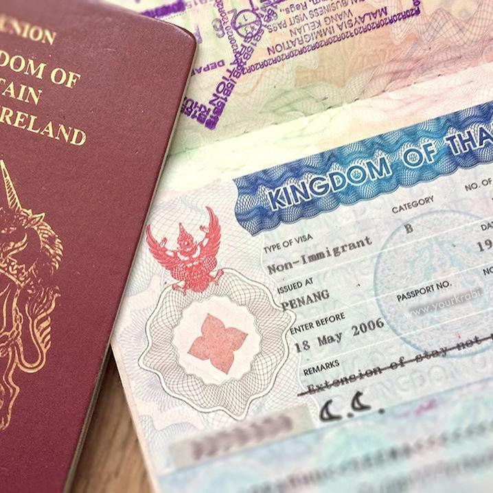烧脑的泰国落地签该怎么办理,教你一个简单的方法