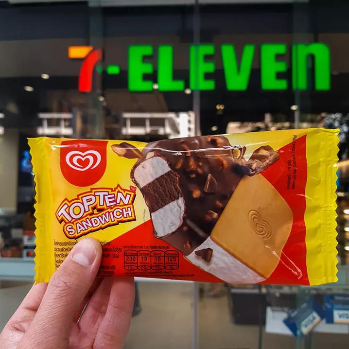 泰國7-11新品美食推薦,吃零食也得與時俱進