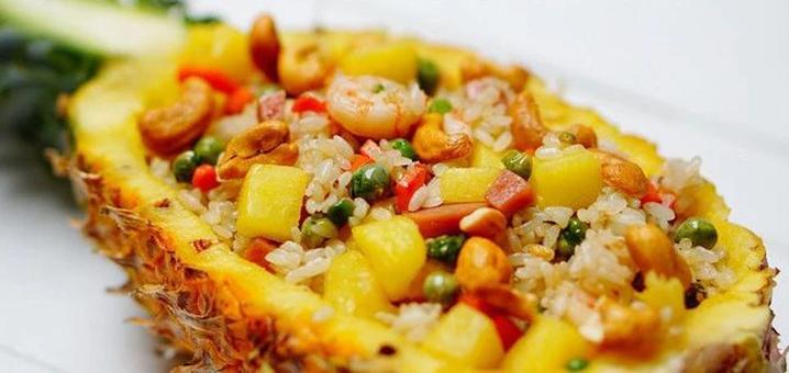 泰国菠萝炒饭,家喻户晓的国民菜
