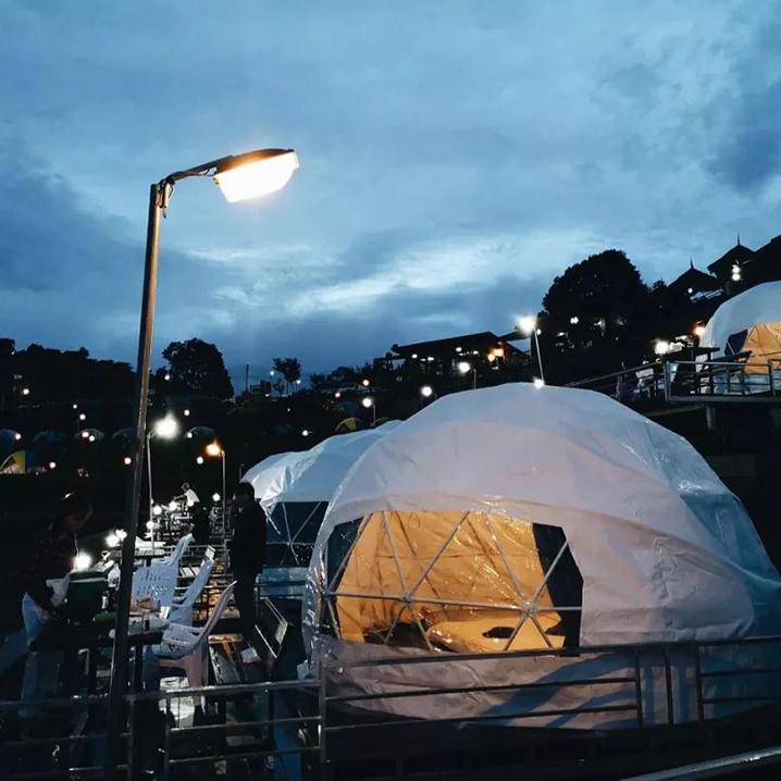 清迈梯田帐篷清迈梯田帐篷度假村Mon Ing Dao,搭到了我心上
