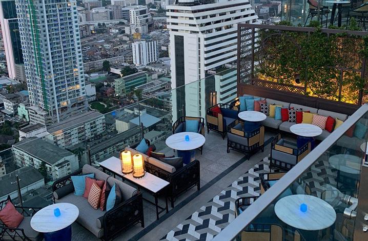 曼谷高空酒吧