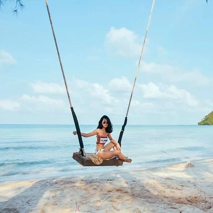 泰国阁骨岛休闲的度假方式