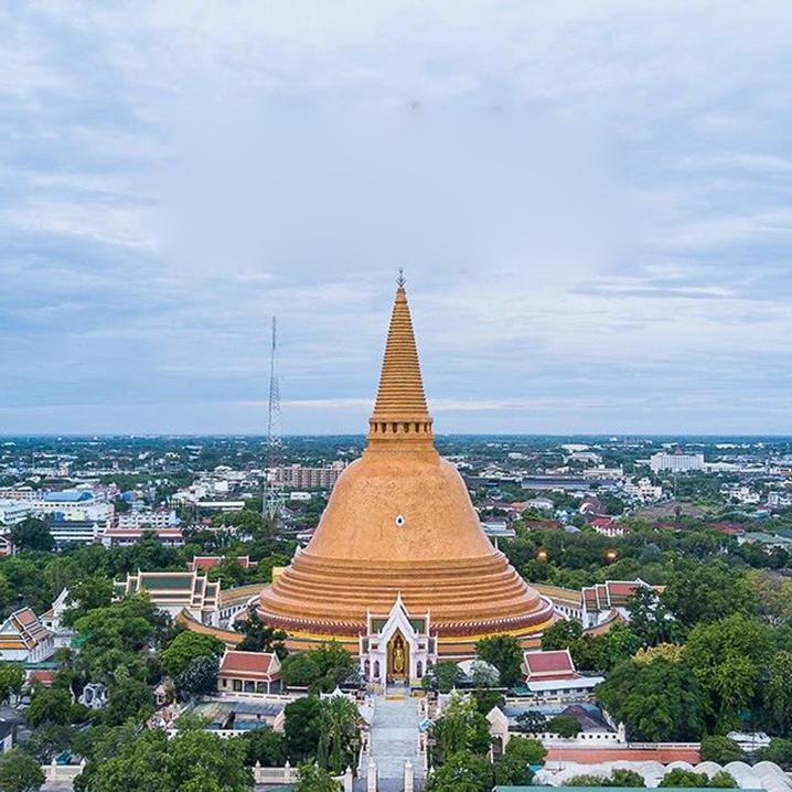 泰国最古老的城市——佛统府,曼谷周边游的最佳之地