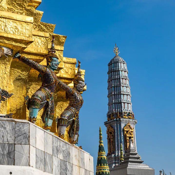 彩色的泰国,打卡潘通2020年度代表色景点建筑