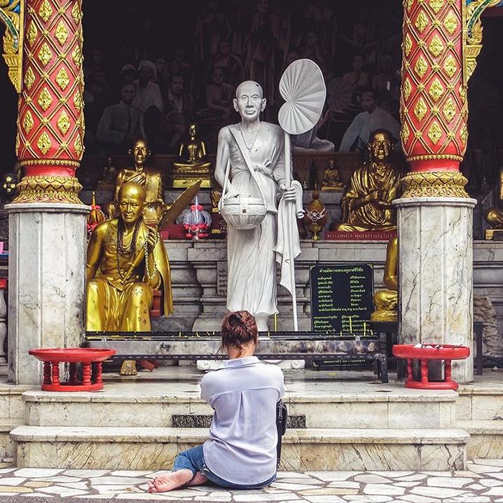 清迈旱季旅行,从到寺庙到市场